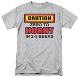 Zero to Horny T-shirts