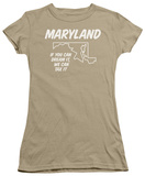 Juniors: Maryland T-shirts