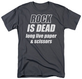Rock is Dead T-shirts