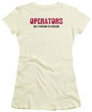 Juniors: Operators Do It T-shirts