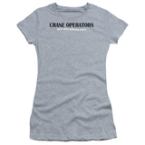 Women's: Crane Operators Do It (Slim Fit) T-shirts