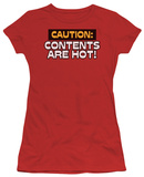 Juniors: Contents Are Hot Shirt