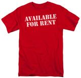 Available For Rent Vêtements