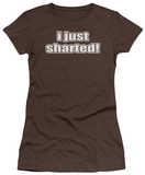 Women&#39;s: Sharted (Slim Fit) T-Shirt