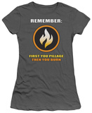 Juniors: First You Pillage T-shirts