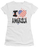 Juniors: I Heart America T-shirts