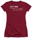 Juniors: Clowns Taste Funny T-Shirt