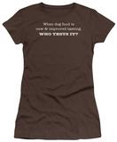Juniors: Dog Food T-shirts