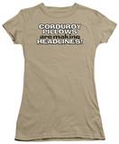 Juniors: Corduroy Pillows T-Shirt