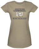 Juniors: Conserve Toilet Paper T-shirts