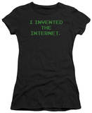 Juniors: Invented the Internet T-Shirt