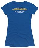 Juniors: Oceanographers Do It T-shirts