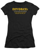 Juniors: Divorce T-Shirt