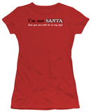 Juniors: I&#39;m Not Santa T-Shirt