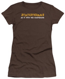 Juniors: Statisticians Do It 95% Confidence T-Shirt