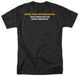 Death, Taxes, & Depression T-Shirt