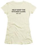 Juniors: Clean Kitchen T-shirts