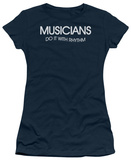 Juniors: Musicians Do It With Rhythm T-Shirt