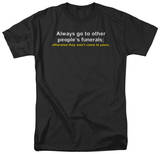 Other People's Funerals T-shirts