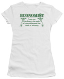 Juniors: Economist: Knows the Price Shirts