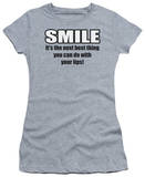 Juniors: Smile T-Shirt