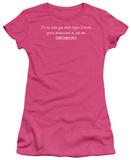 Juniors: Checkbooks T-shirts