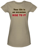 Juniors: Rise To It T-Shirt