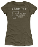 Juniors: Vermont T-shirts