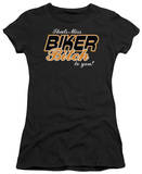 Juniors: Miss Biker Bitch T-shirts