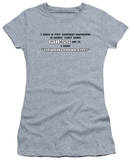 Juniors: Thyroid Problem T-shirts