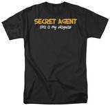 Secret Agent T-shirts