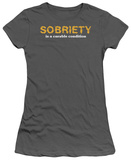Juniors: Sobriety T-Shirt