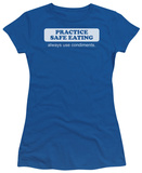 Juniors: Safe Eating T-shirts