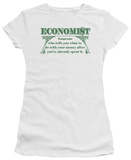 Juniors: Economist: What to Do T-shirts