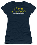Juniors: Change is Inevitable T-Shirt