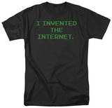 Invented the Internet T-shirts