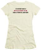 Juniors: Frontal Lobotomy T-Shirt