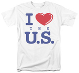 I Love the U.S. T-shirts