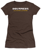 Women's: Drummers Do It (Slim Fit) T-shirts