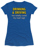 Juniors: Drinking and Driving T-shirts