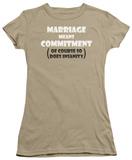 Juniors: Marriage Insanity Shirts