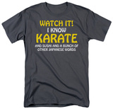 I Know Karate Shirts