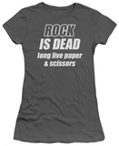 Juniors: Rock is Dead T-Shirt