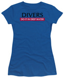 Women's: Divers Do It (Slim Fit) T-shirts
