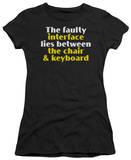 Juniors: Faulty Interface Shirt