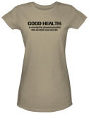 Juniors: Good Health T-Shirt