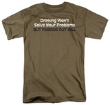 Passing Out Will T-shirts