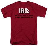 IRS T-shirts
