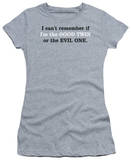 Juniors: Good or Evil Twin Shirt