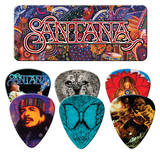 Santana - Supernatural Guitar Picks Palhetas guitarra e violão